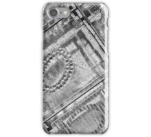 Black and White Abstract Geometric Photography iPhone Case/Skin