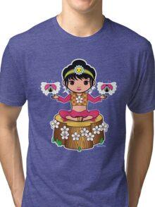 Dewmuffins Ribbon Tri-blend T-Shirt