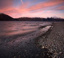 Lake Coleridge Sunrise, NZ by Greg  Sorenson