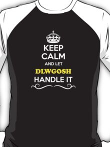 Keep Calm and Let DLWGOSH Handle it T-Shirt