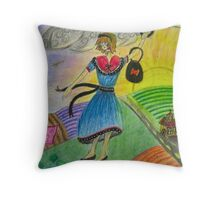 Colour Blown Throw Pillow