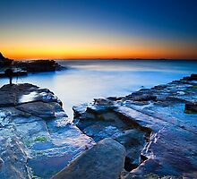 Sunrise at Susan Gilmore Beach by Andy Gock