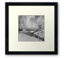 A Winter's dream Framed Print