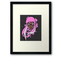 Pink Inkling Girl Framed Print