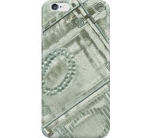 Abstract Geometric Design Photography - Teal iPhone Case/Skin