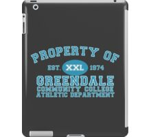 Greendale Community College Athletic Department iPad Case/Skin