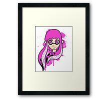 Magenta Inkling Girl Framed Print