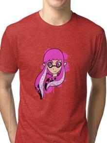 Magenta Inkling Girl Tri-blend T-Shirt