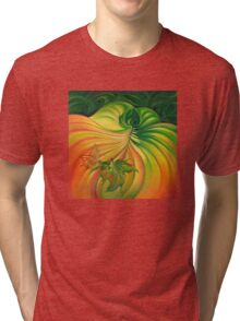 Behind the Curtain of Colours Tri-blend T-Shirt