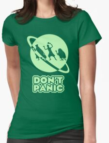 Hitchhiker's Guide to the Haunted Mansion Womens Fitted T-Shirt