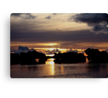 Volcanic Skies Canvas Print