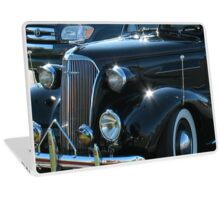 """Classic Black""... prints and products Laptop Skin"
