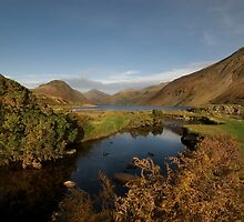 Wastwater and Wasdale Head by eddiej