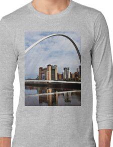 Millennium Bridge and Baltic Long Sleeve T-Shirt