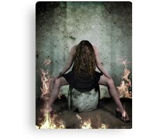 I Burn Canvas Print