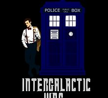 doctor who - INTERGALACTIC WAG (white) by FandomizedRose