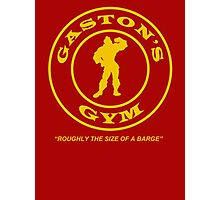 Gaston's Gym - Roughly the Size of a Barge Photographic Print