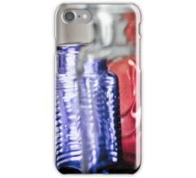 Grainy Bottles iPhone Case/Skin