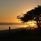 Hervey Bay Sunrise by bowenbw