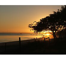 Hervey Bay Sunrise Photographic Print