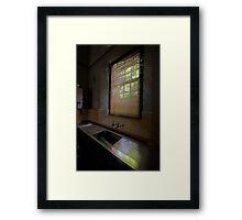 Empty - Tarban Creek Lunatic Asylum - The HDR Experience Framed Print