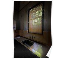 Empty - Tarban Creek Lunatic Asylum - The HDR Experience Poster