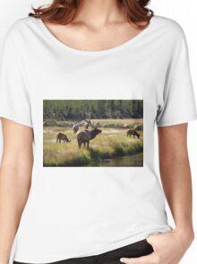 Bull Elk - Yellowstone Women's Relaxed Fit T-Shirt