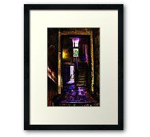 Mystical Building Fine Art Print Framed Print