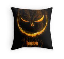 Evil Halloween Throw Pillow
