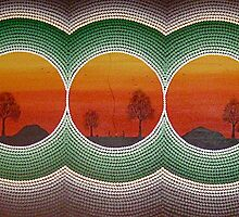 dhaagun (Land,dirt,ashes,earth,soil) by aboriginalart