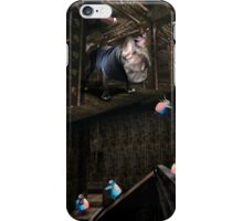 Secret meeting in the warehouse. iPhone Case/Skin