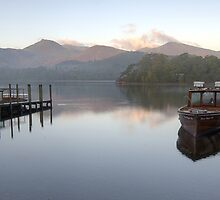Derwent Daybreak Panorama by David Tait
