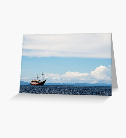 The Seven Seas Greeting Card