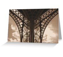 lace architecture Greeting Card