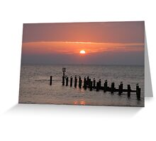 A new day! Greeting Card