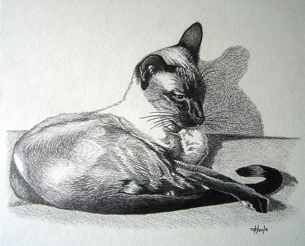 Relaxing - Ginger by John Houle