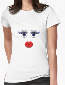 Blue Eyes With Lips T-Shirt