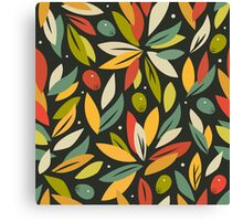 Olive branches Canvas Print