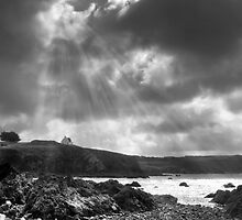 A break in the clouds by Bob Culshaw