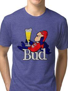 Budweiser Bud Man New Tri-blend T-Shirt
