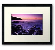 Maddox Cove Framed Print