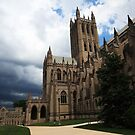 Washington National Cathedral by kathy s gillentine