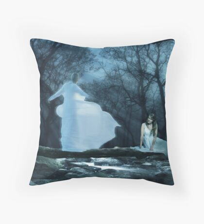 Bridge Over Troubled Water - A song for Sarah Throw Pillow