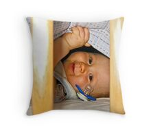 Jeepers Peepers Throw Pillow
