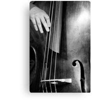 Jazz Bass Poster Canvas Print