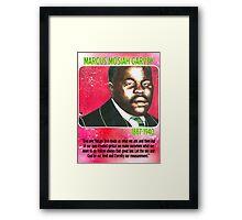 Marcus Mosiah Garvey Framed Print