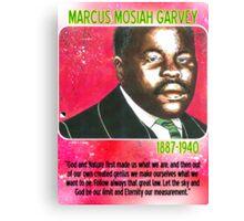Marcus Mosiah Garvey Canvas Print