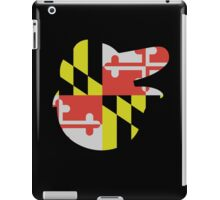 Baltimore Logo with Maryland Flag iPad Case/Skin