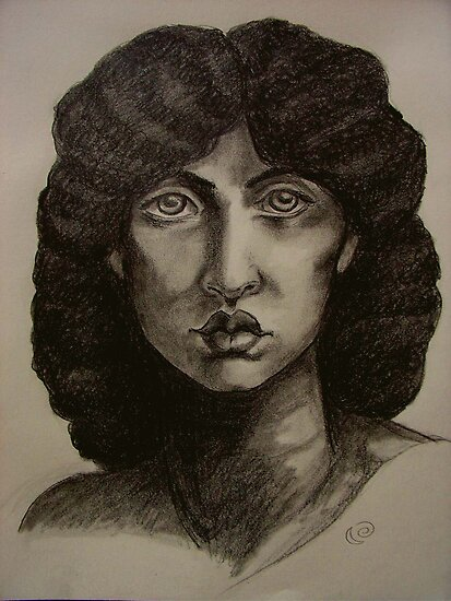 Study of Jane Morris after Rossetti by MoonSpiral
