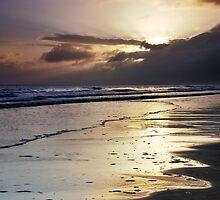 Waves At Dawn by Blackgull